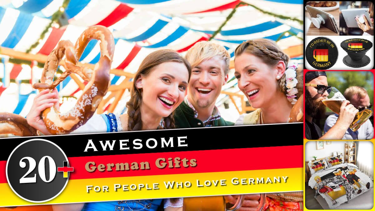 20+ Awesome German Gifts for People Who Love Germany Banner
