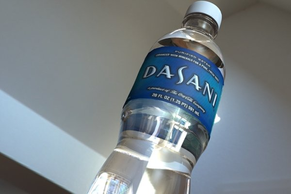 Dasani Hidden Stash Water Bottle