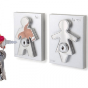 His&Hers Key Holders