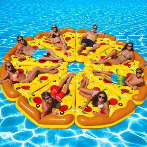 inflatable pizza