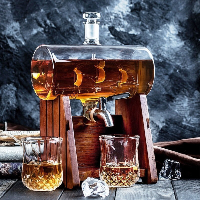 Vintage Whiskey Dispenser