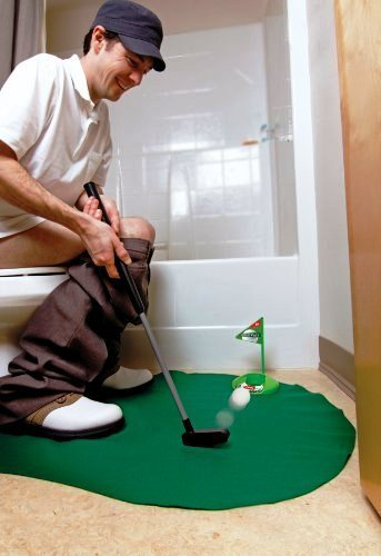 golf game for toilet