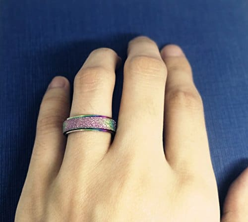 unisex stress relief ring