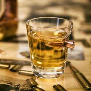 Bullet Shot Glass