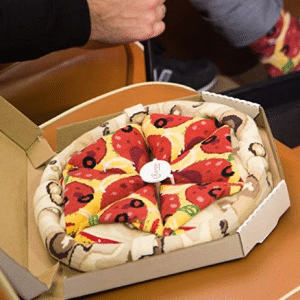 Pizza Socks Box