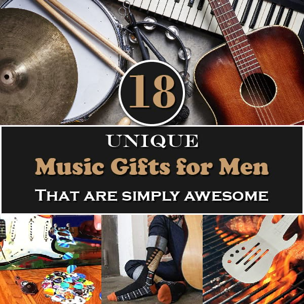 18 Unique Music Gifts For Men That Are Simply Awesome