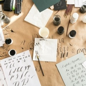 Calligraphy Lettering Set