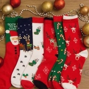 Christmas Holiday Socks