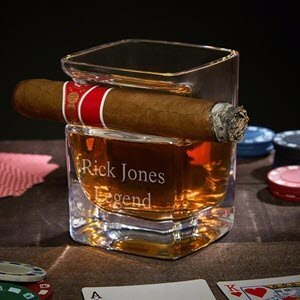 Cigar Whiskey Glass