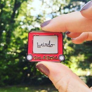 Etch A Sketch Pin