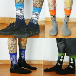 Famous Painting Art Socks