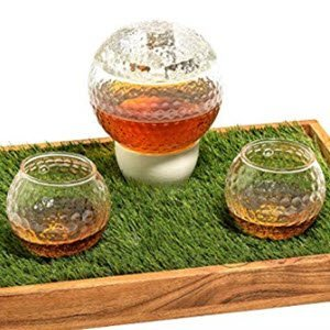 Golf Ball Decanter Set