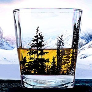 Landscape Whiskey Glass