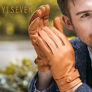 Men's Deerskin Leather Gloves