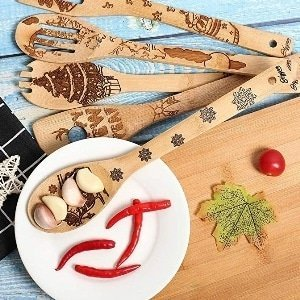 New Year Wooden Spoons