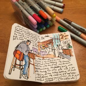 Pocket Journal Sketch Book
