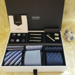 Premium Men's Gift Tie Set