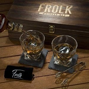 Premium Whiskey Stones Gift Set
