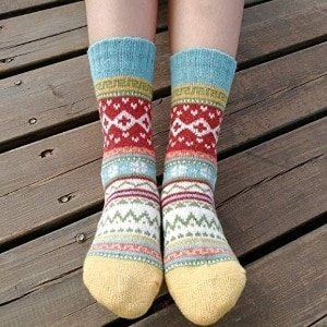 Vintage Winter Socks