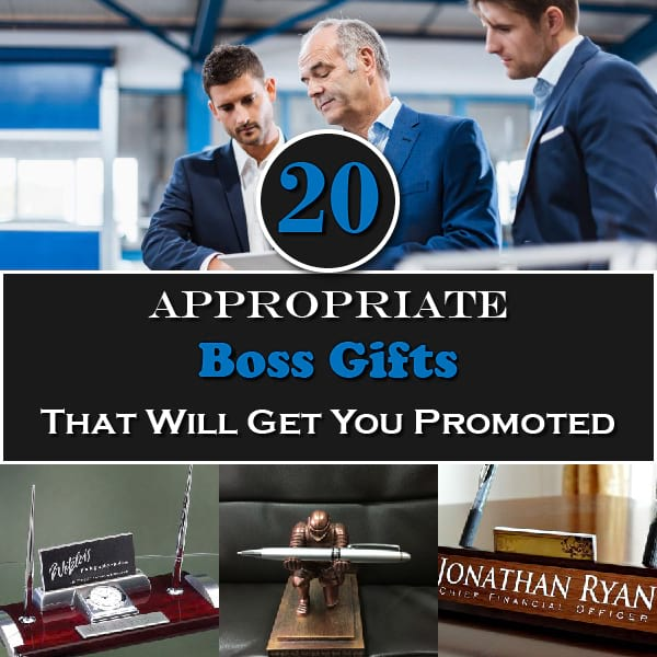 20 Appropriate Boss Gifts That Will Get You Promoted