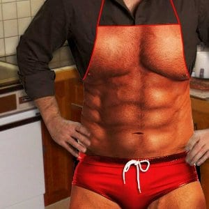 Sexy Muscle Apron