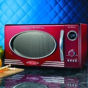 Vintage Style Microwave Oven