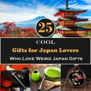 25 Cool Gifts for Japan Lovers Who Love Weird Japan Gifts