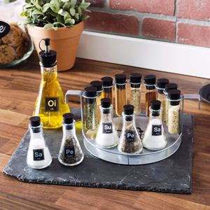 Chemistry Spice Rack Set