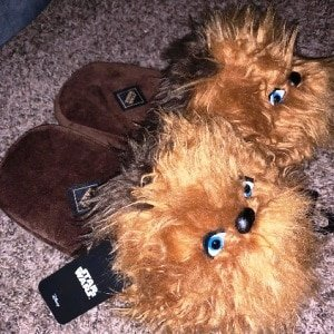 Chewbacca Plush Slippers