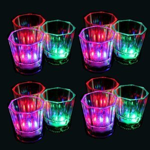 Flash Light Up Cups