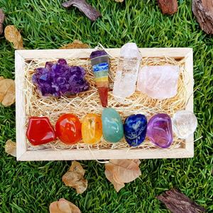 Healing Crystals Gift Set