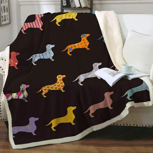 Dog Printed Blanket
