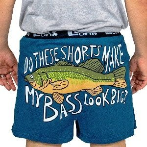 Fishing Funny Boxers