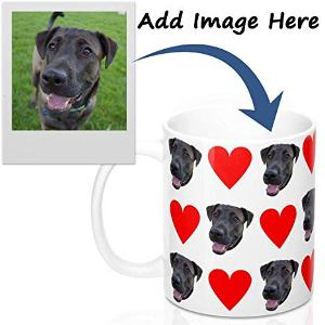 Personalized Dog Portrait Mug