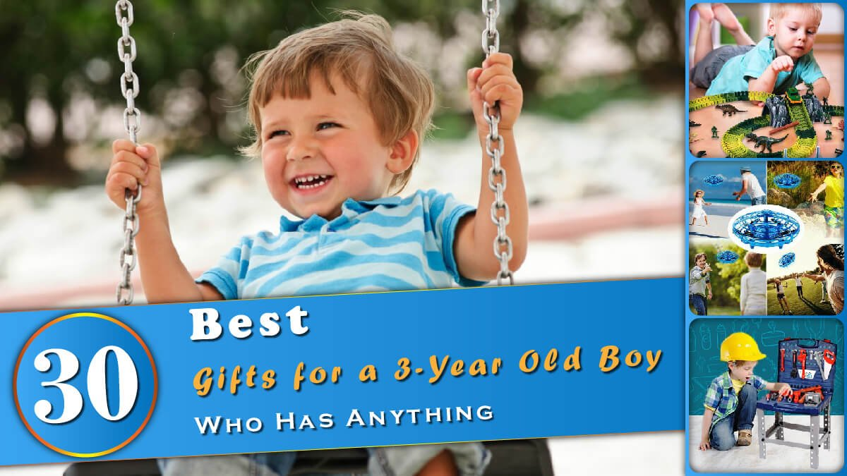Gifts for a 3 Year Old Boy Banner