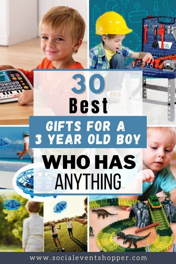 Gifts for a 3 Year Old Boy Pinterest