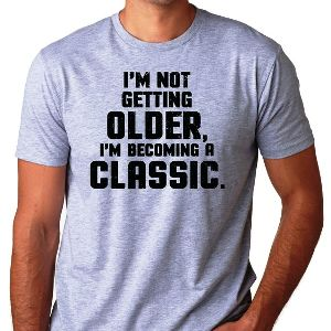 Senior's Funny T Shirt