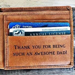 Dad's Leather Wallet