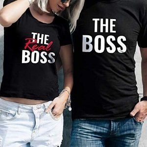 Real Boss Couples T-Shirts