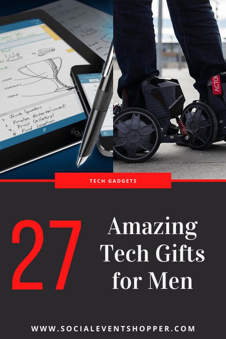 27 Amazing Tech Gifts for Men Who Can't Live Without Gadgets