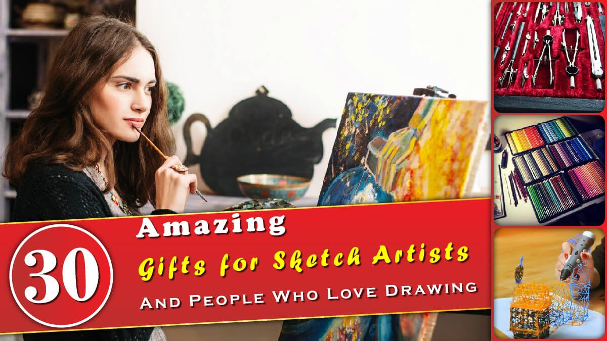 30 Amazing Gifts for Sketch Artists Banner
