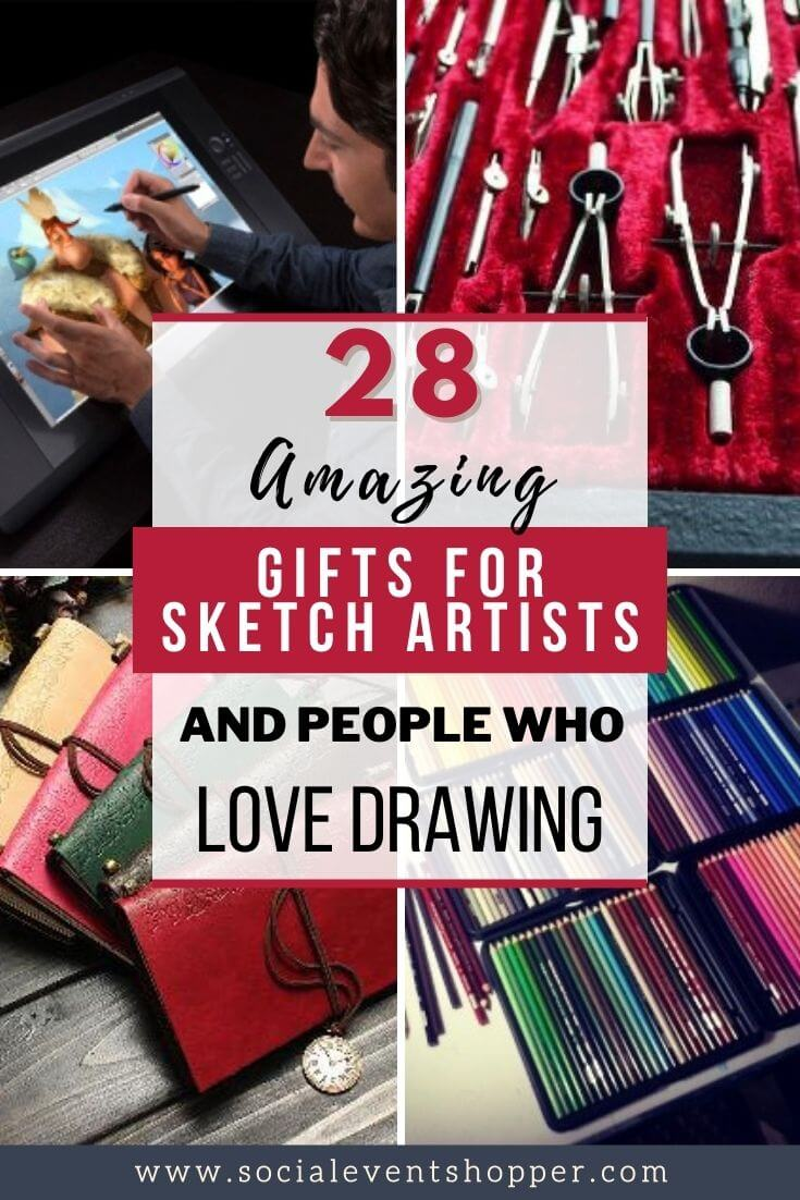 30 Amazing Gifts for Sketch Artists Pinterest