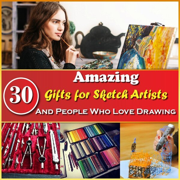 30 Amazing Gifts for Sketch Artists Thumbnail