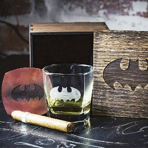 Batman Whiskey Glasses Set