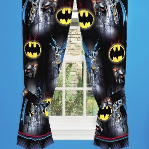 Batman Window Curtain