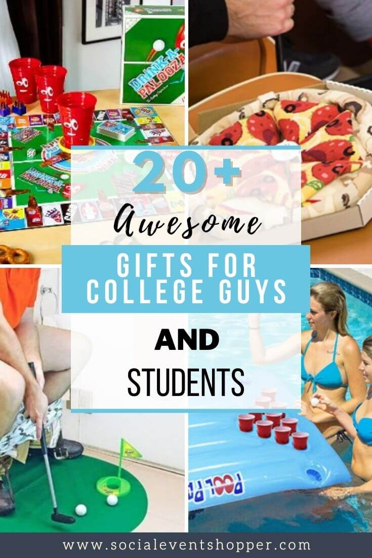 Best Gifts for College Guys Pinterest