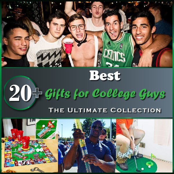 """Featured image for """"20+ Best Gifts for College Guys: The Ultimate Collection"""""""