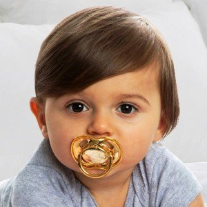 Chic Baby Pacifier with Carrying Case