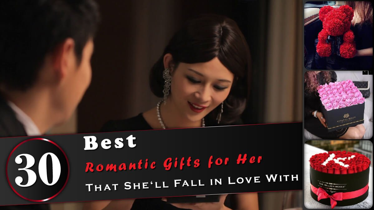 Romantic Gifts For Her Banner