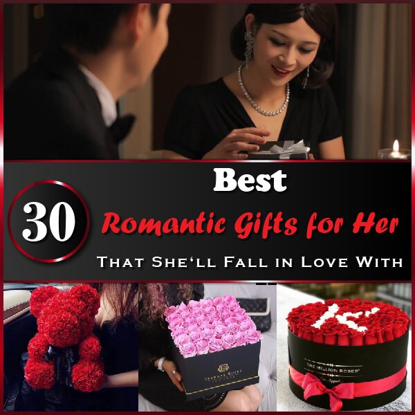 """Featured image for """"30 Best Romantic Gifts For Her That She'll Fall In Love With"""""""